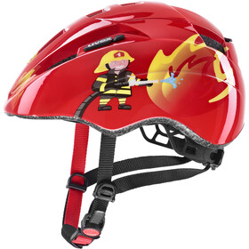 UVEX Kid 2 Helmet Kids red fireman